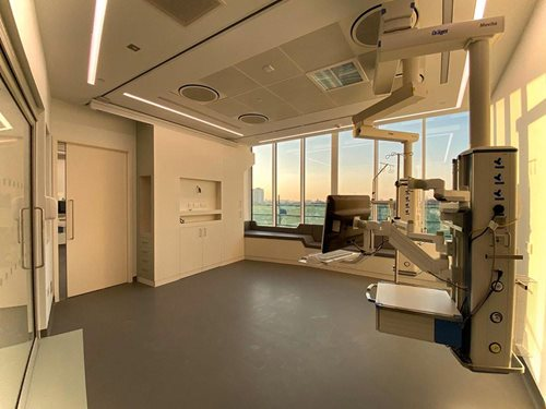 Chelsea and Westminster Hospital ICU expansion