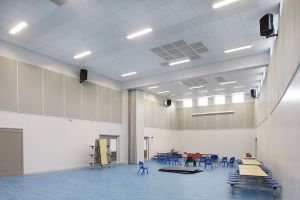 fermacell's gypsum fibreboard panels have saved construction costs for a new school.