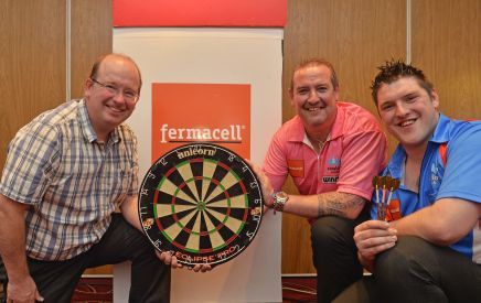 Two darts professionals have been signed up by fermacell