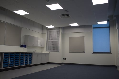 fermacell dry lining board used for Allen Edwards Primary School